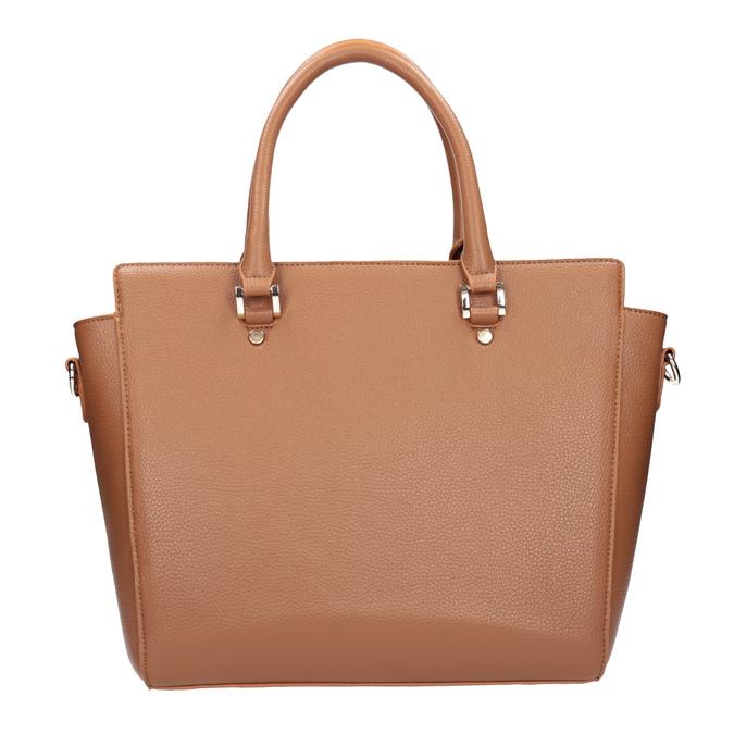 Braune Handtasche mit abnehmbarem Gurt bata, Braun, 961-3845 - 26