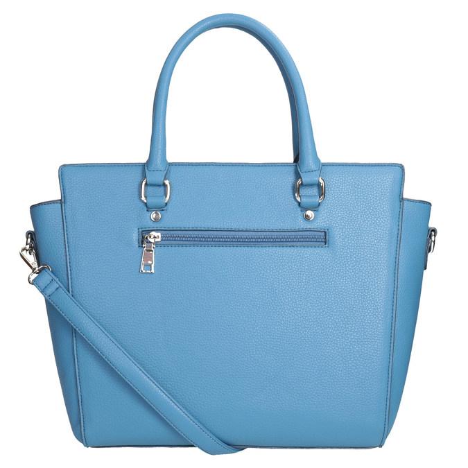 Blaue Damenhandtasche bata, 961-9845 - 16
