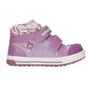 Knöchelhohe, gemusterte Kinder-Sneakers bubblegummer, Violett, 121-9618 - 26