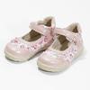 Gemusterte, rosa Ballerinas bubblegummer, 121-5621 - 16