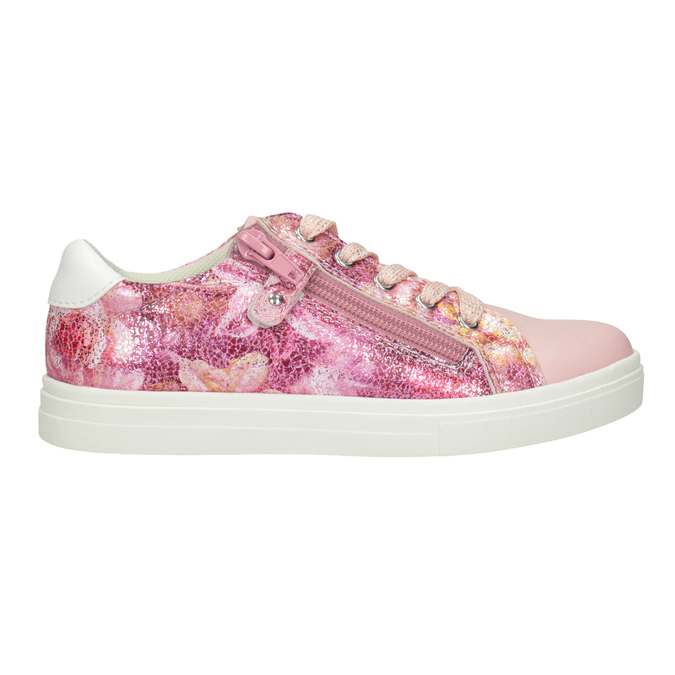 Rosa Sneakers mit Blumenmuster mini-b, 321-5219 - 26