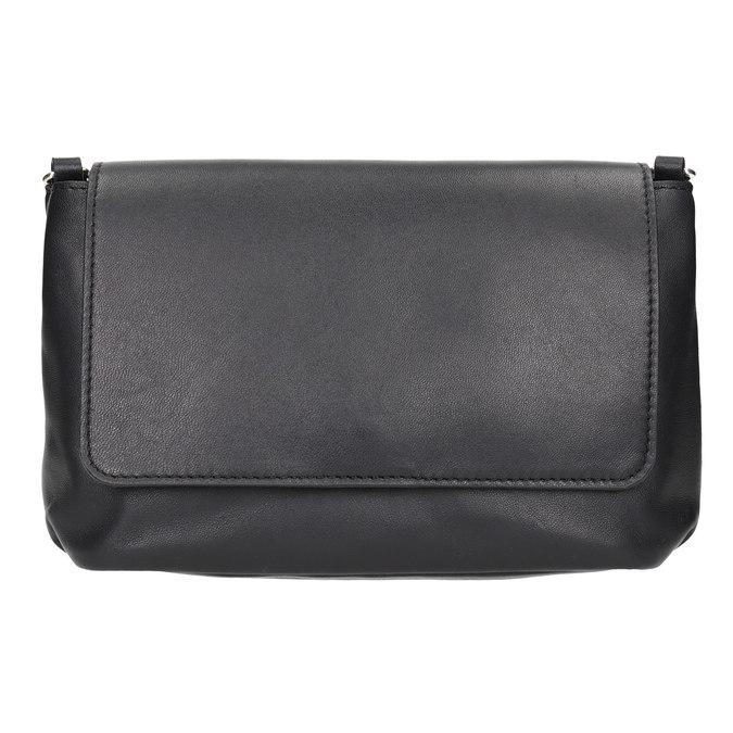 Crossbody-Damenhandtasche aus Leder bata, Schwarz, 964-6291 - 26
