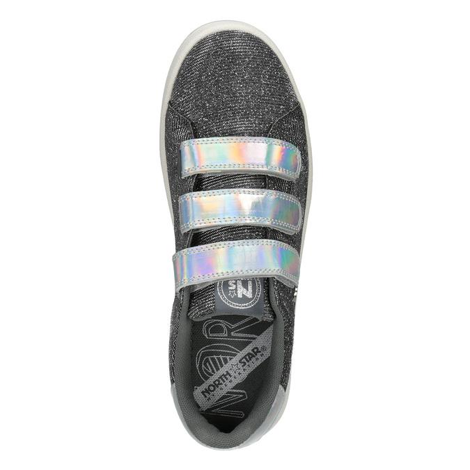 Damen-Sneakers mit Klettverschlüssen north-star, Silber , 549-1604 - 17