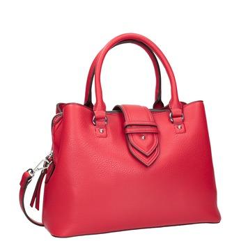 Rote Damenhandtasche bata, Rot, 961-5216 - 13