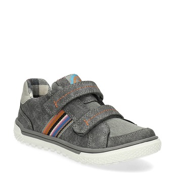Kinder-Sneakers mit Perforation mini-b, Grau, 211-2625 - 13