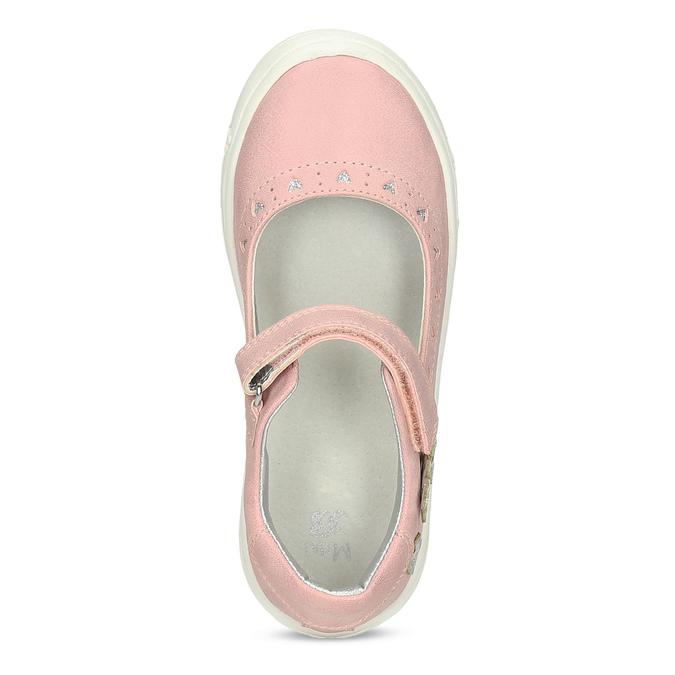 Rosa Mädchen-Ballerinas mini-b, Rosa, 221-5216 - 17