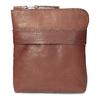Braune Crossbody-Ledertasche bata, Braun, 964-4288 - 26