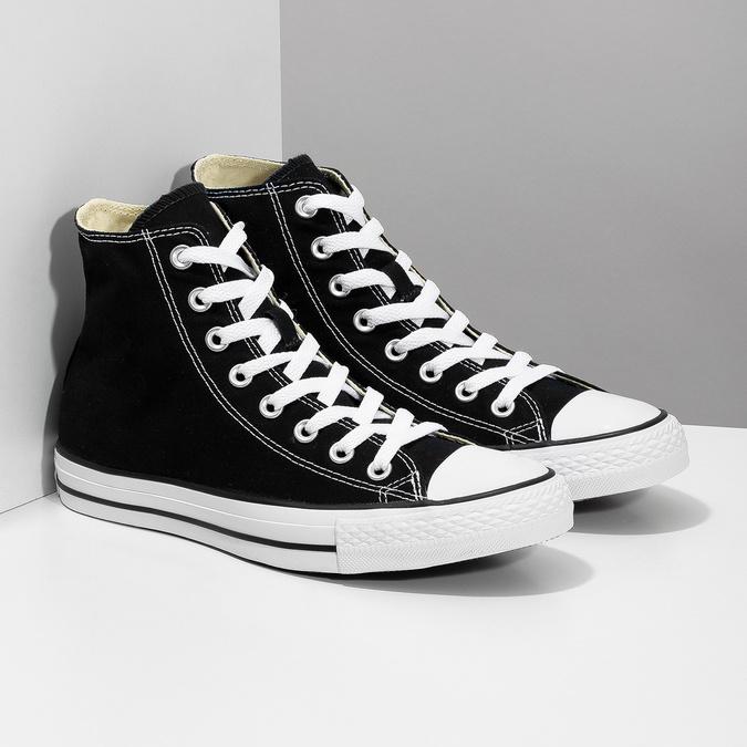 Knöchelhohe Damen-Sneakers converse, Schwarz, 589-6278 - 26