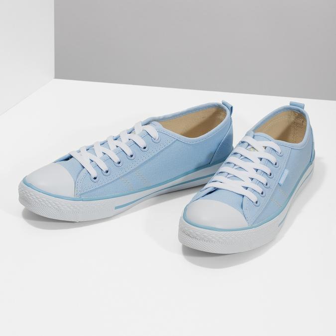 Blaue Damen-Sneakers north-star, Blau, 589-9443 - 16