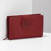 Damen-Geldbörse aus Leder bata, Rot, 944-5155 - 17