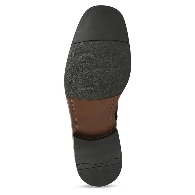 Knöchelschuhe aus Leder mit wärmender Fütterung, Schwarz, 894-6641 - 18